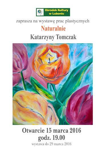 plakat wystawa 15 marca 2016